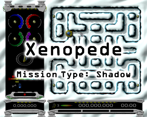 Xenopede Shadow Demo