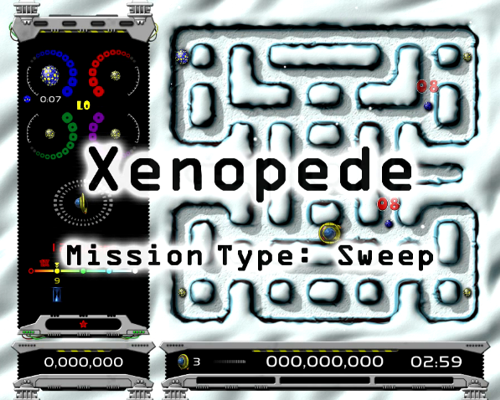 Xenopede Sweep Demo